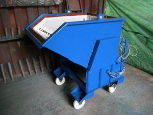 Компактный шламоосушающий контейнер открытого типа с роликами