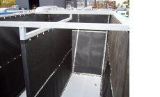 Разделительная перегородка контейнера шламового контейнера