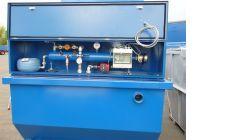 Модуль обогрева шламоосушающего контейнера