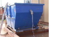 Шламовый контейнер с системой перелива