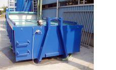 Большой шламоосушающий контейнер с вибрационным модулем
