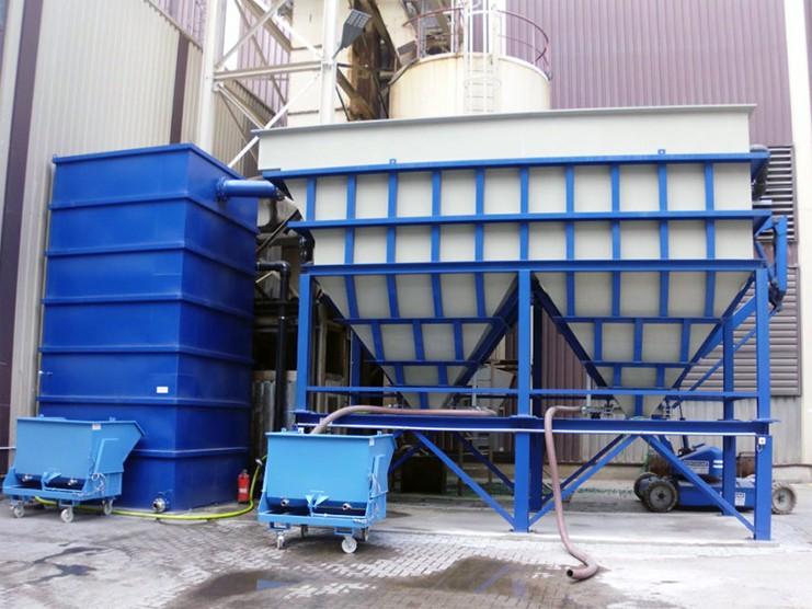 Ламельный сепаратор и шламоосушающие контейнеры Zetler