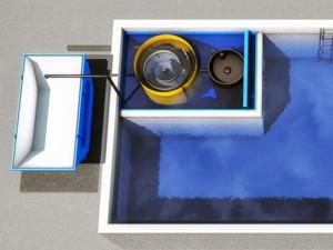 Спиральный сепаратор с масловыдавливающей камерой и шламоосушающий контейнер