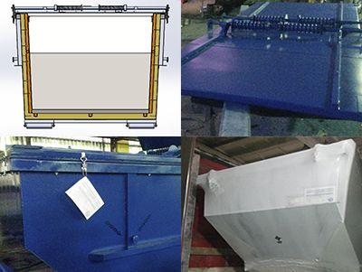 Поставка теплоизолированных шламовых контейнеров для нефтехимической отрасли